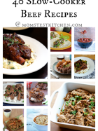 40 Slow Cooker Beef Recipes