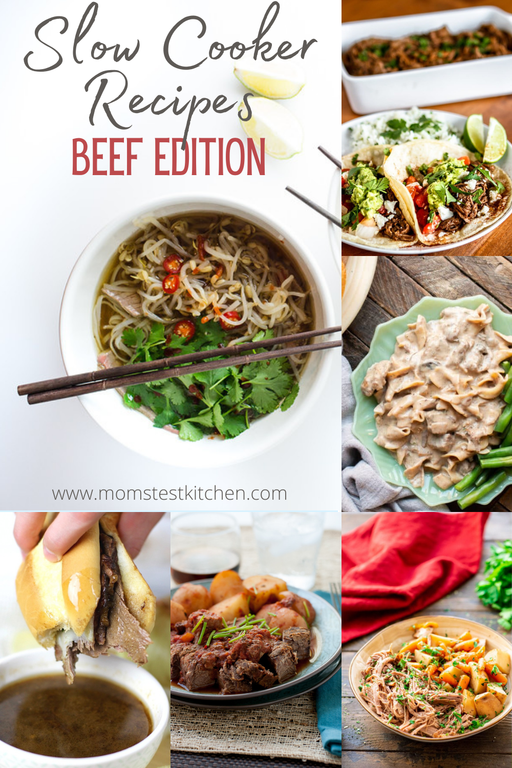 We've rounded up 40 of the simplest, man pleasing, red meat filled Slow Cooker Recipes to help make dinner time super quick and easy!