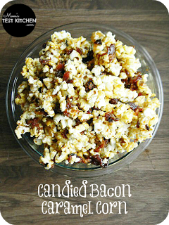 Candied Bacon Caramel Corn | www.momstestkitchen.com