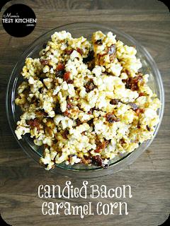 Candied Bacon Caramel Corn | www.momstestkitchen.com