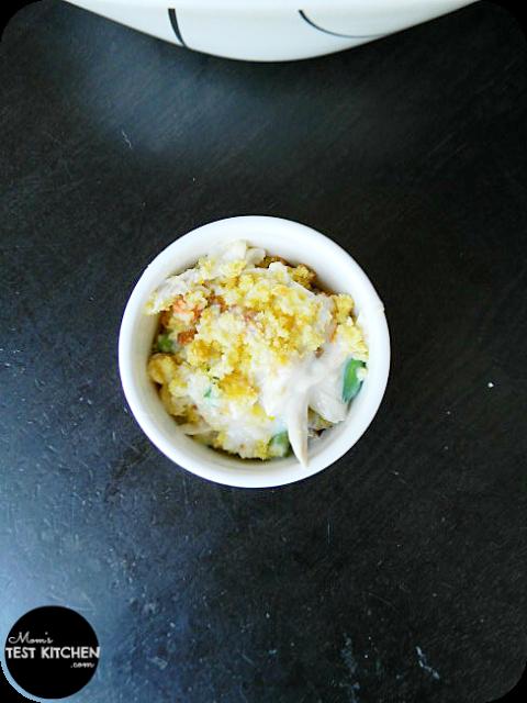 Mom's Test Kitchen: Chicken & Cornbread Casserole #QuickFixCasseroles