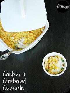 Chicken & Cornbread Casserole | www.momstestkitchen.com | #QuickFixCasseroles