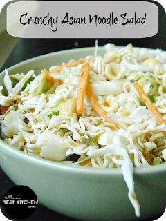 Mom's Test Kitchen: Crunchy Asian Noodle Salad