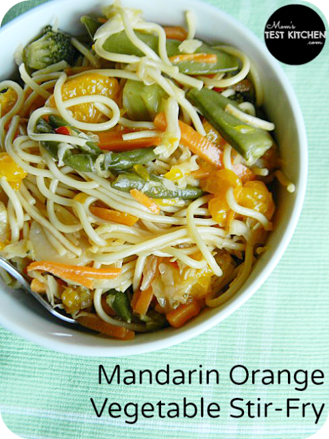 Mandarin Orange Vegetable Stir-Fry | www.momstestkitchen.com | #recipe #vegetables #leftovers