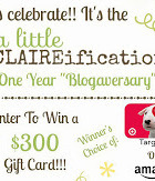 ALittleClaireification++Giveaway