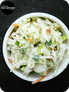 Apple Bacon Coleslaw | www.momstestkitchen.com | #BaconMonth