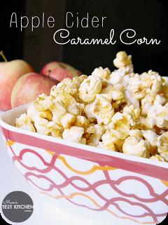 Apple Cider Caramel Corn | www.momstestkitchen.com