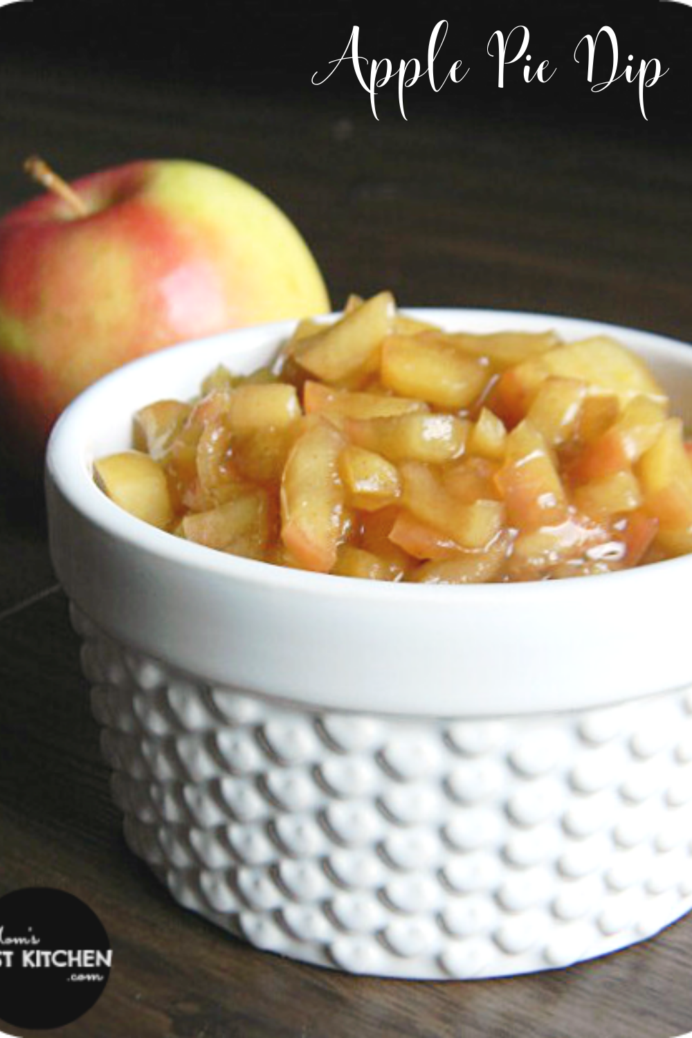 Get all the flavors of apple pie without all of the work! Serve this Apple Pie Dip with your favorite Cinnamon Chips, stuffed in between waffles or as a delicious ice cream topping.