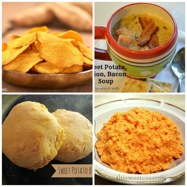 Wonderful Food Wednesday Features: Sweet Potatoes