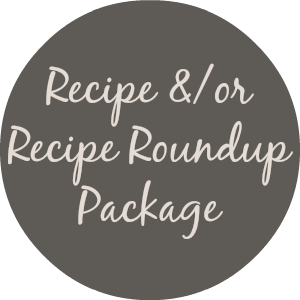 Recipe Roundup Promotion