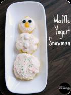 WaffleYogurtSnowman