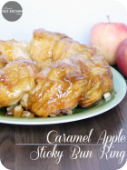 Caramel Apple Sticky Bun Ring
