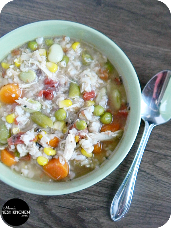Quick & Easy Chicken & Rice Soup | www.momstestkitchen.com | #sponsored