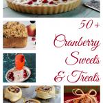 50+ Cranberry Sweets & Treats