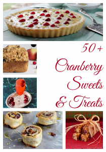 50+ Cranberry Sweets & Treats