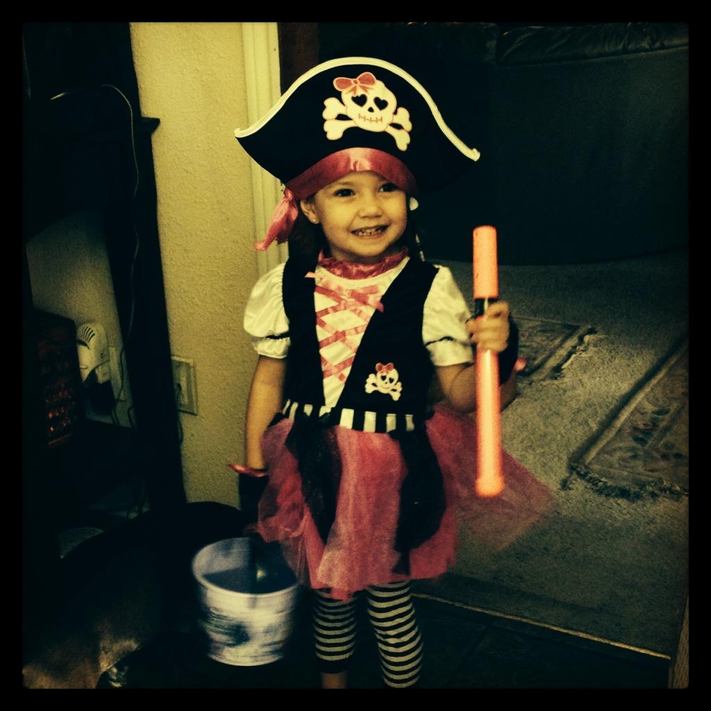 Pirate Princess, Halloween 2013