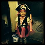 Pirate Princess, Halloween 2013