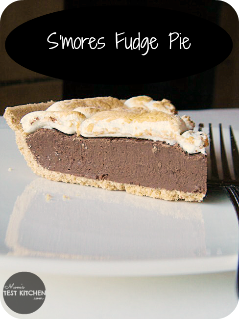 S'mores Fudge Pie