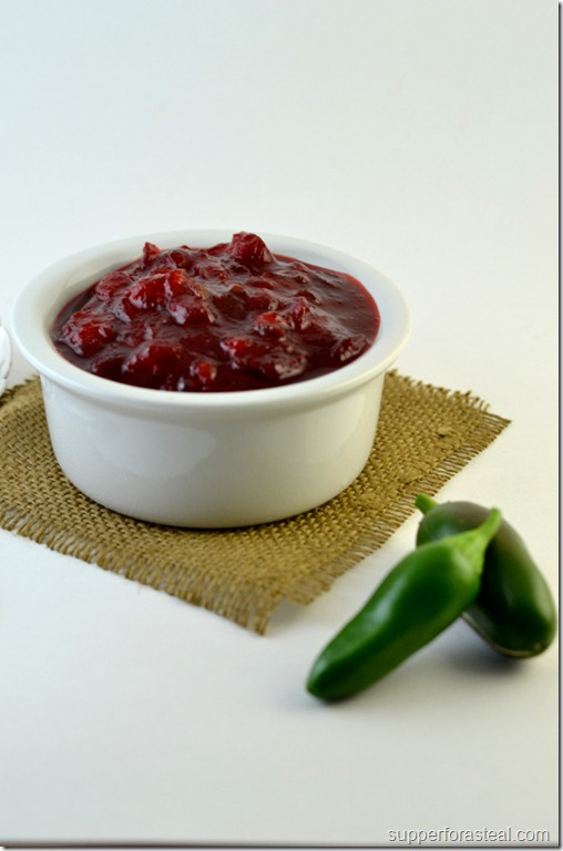 Tequila Jalapeno Cranberry Sauce