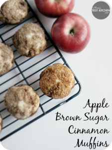 Apple Brown Sugar Cinnamon Muffins | www.momstestkitchen.com