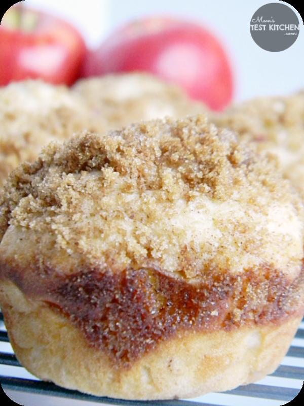 Apple Brown Sugar Cinnamon Muffins   www.momstestkitchen.com