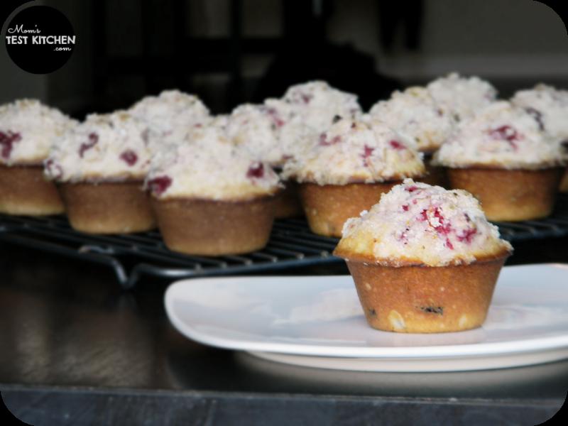 Cranberry Muffins with Cranberry Jam & Orange Sugar | www.momstestkitchen.com | #PAMSmartTips #ad