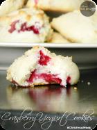 Cranberry Yogurt Cookies | www.momstestkitchen.com | #ChristmasWeek