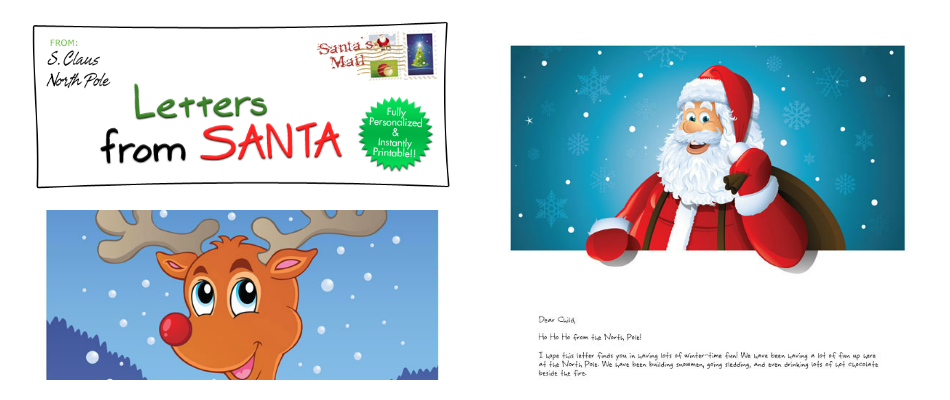 Letters From Santa #Giveaway