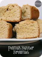 Peanut Butter Brownies | www.momstestkitchen.com | #KraftHolidaySavings #ad