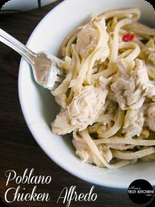 Poblano Chicken Alfredo | www.momstestkitchen.com | #eMealstotherescue #PMedia #ad