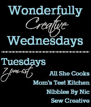 Wonderfully Creative Wednesdays Link Party
