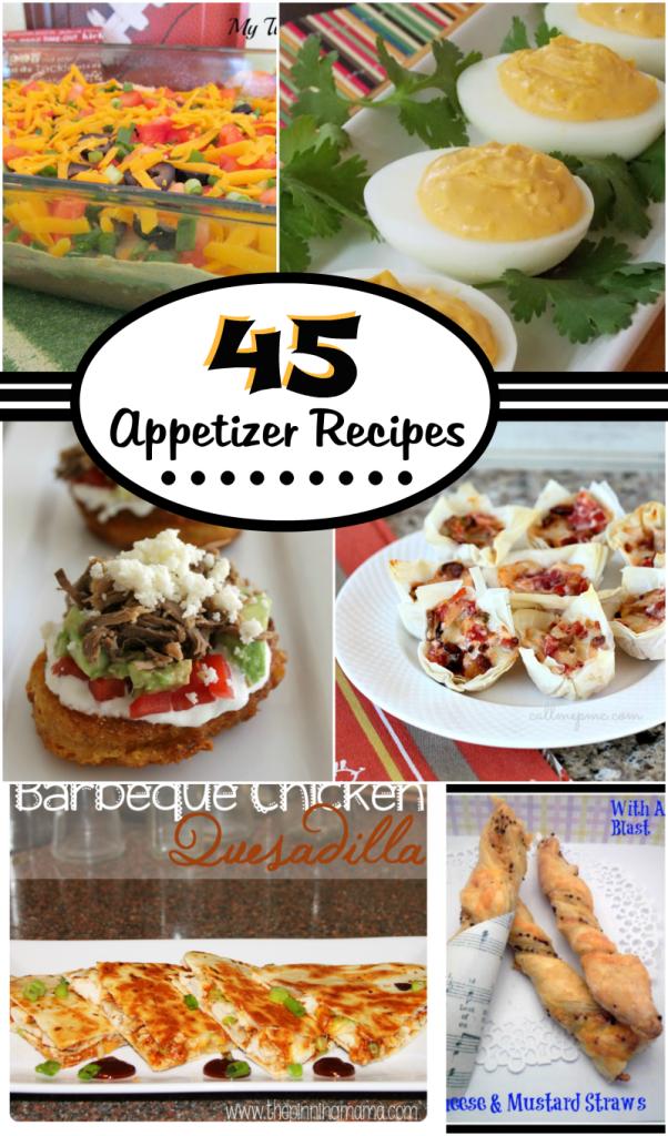 45 Appetizer Recipes