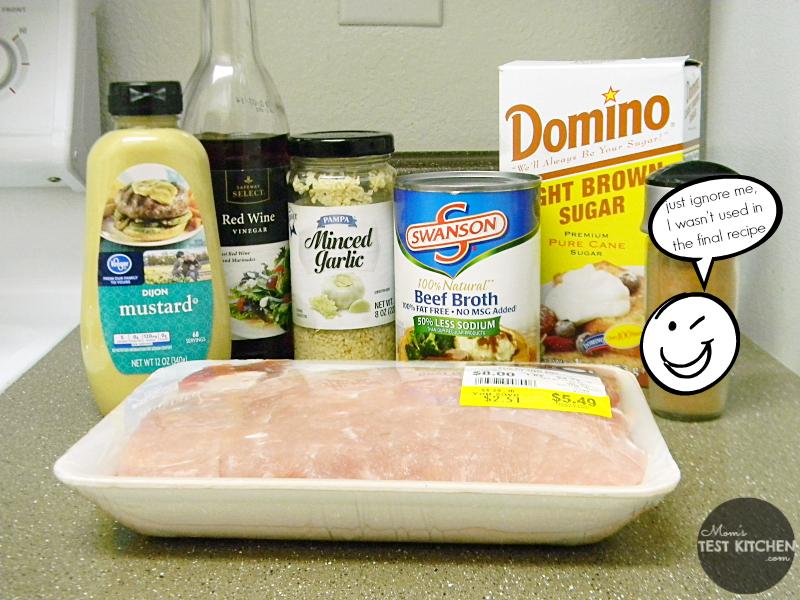 Brown Sugar Pulled Pork Sliders Ingredients