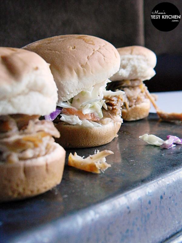 Brown Sugar Pulled Pork Sliders | Mom's Test Kitchen | #FrugalFixins
