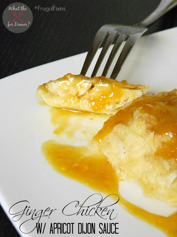 Ginger Chicken with Apricot Sauce