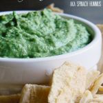 Spinach-Hummus | Mom's Test Kitchen