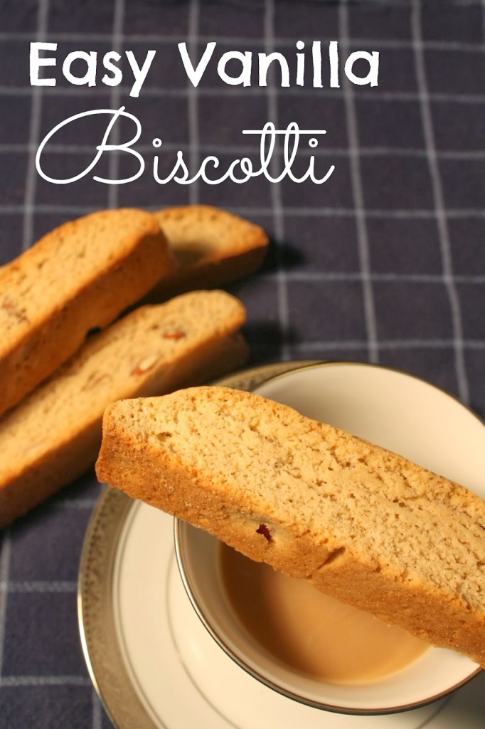 Easy Vanilla Biscotti | Year-Round Giving