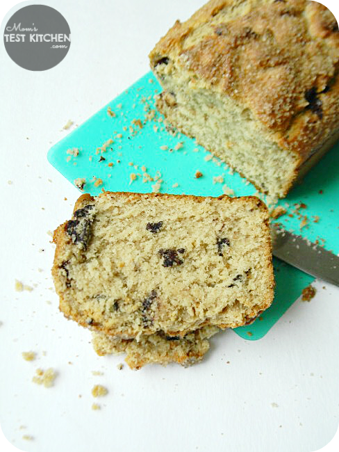 Peanut Butter Chocolate Chunk Bread | www.momstestkitchen.com