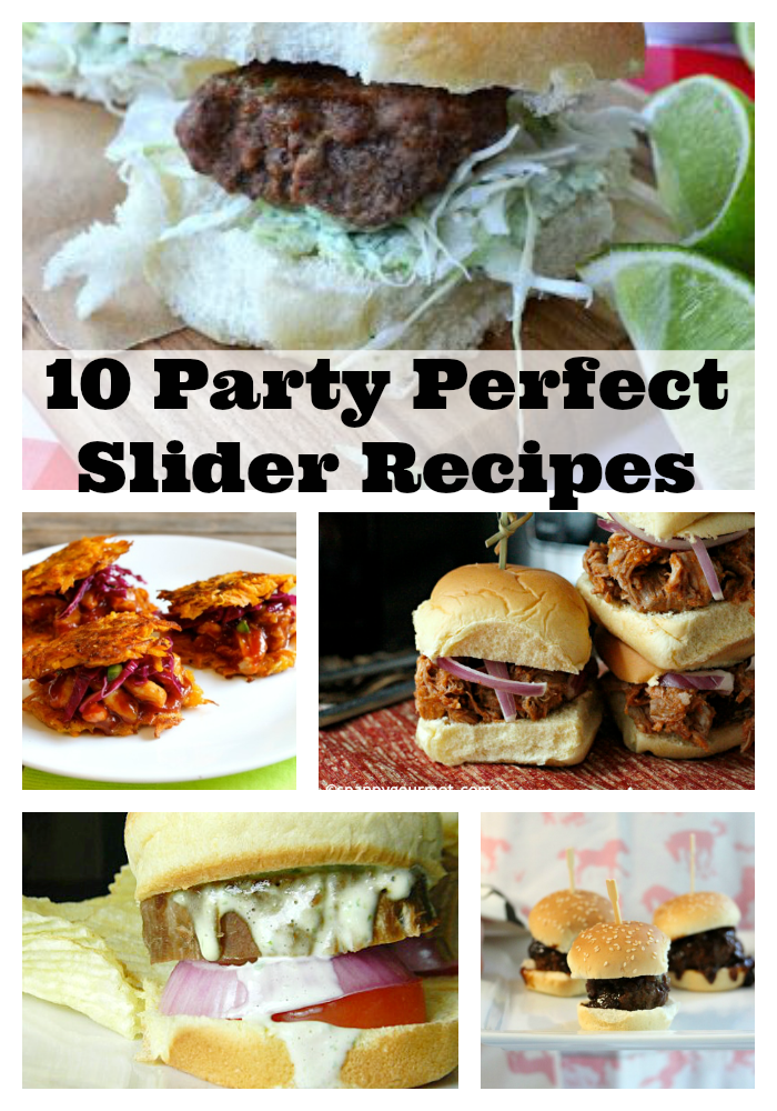 10 Party Perfect Sliders