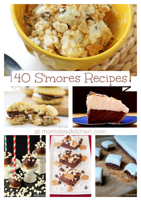 40 S'mores Recipes | MomsTestKitchen.com