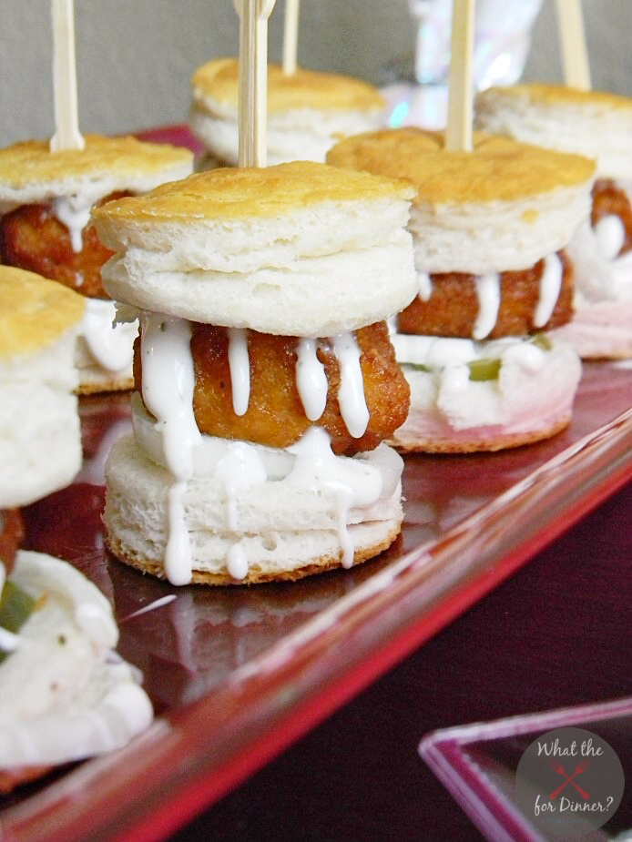 All-American Honey BBQ Ranch Sliders | #SuperMoments #cbias #ad