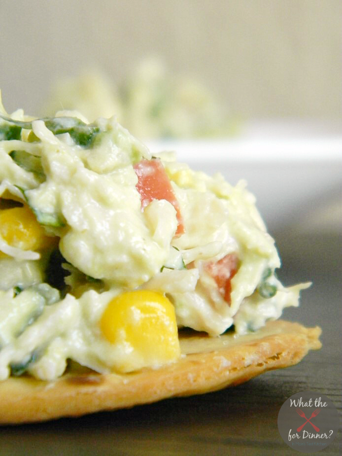 Tex-Mex Chicken Salad Bites