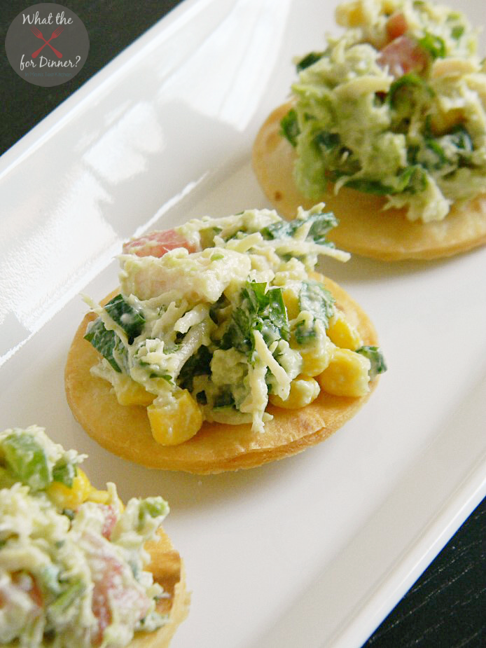 Tex-Mex Chicken Salad Bites | www.momstestkitchen.com | #AppetizerWeek #OXO