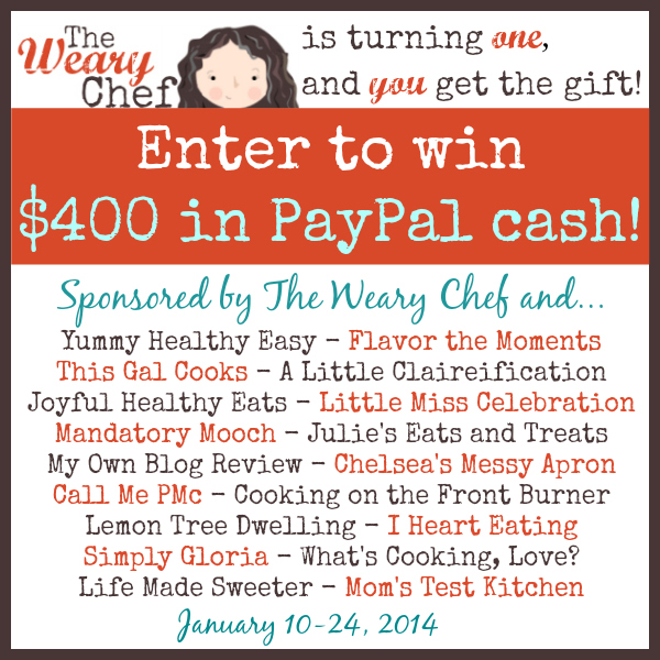 The Weary Chef Giveaway