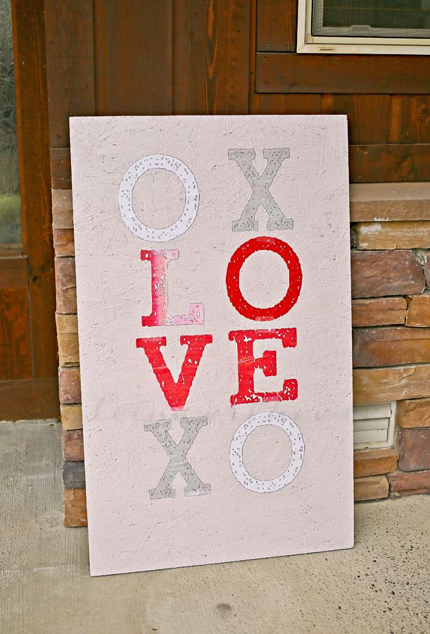 Valentine's Porch Sign | Kleinworth & Co.