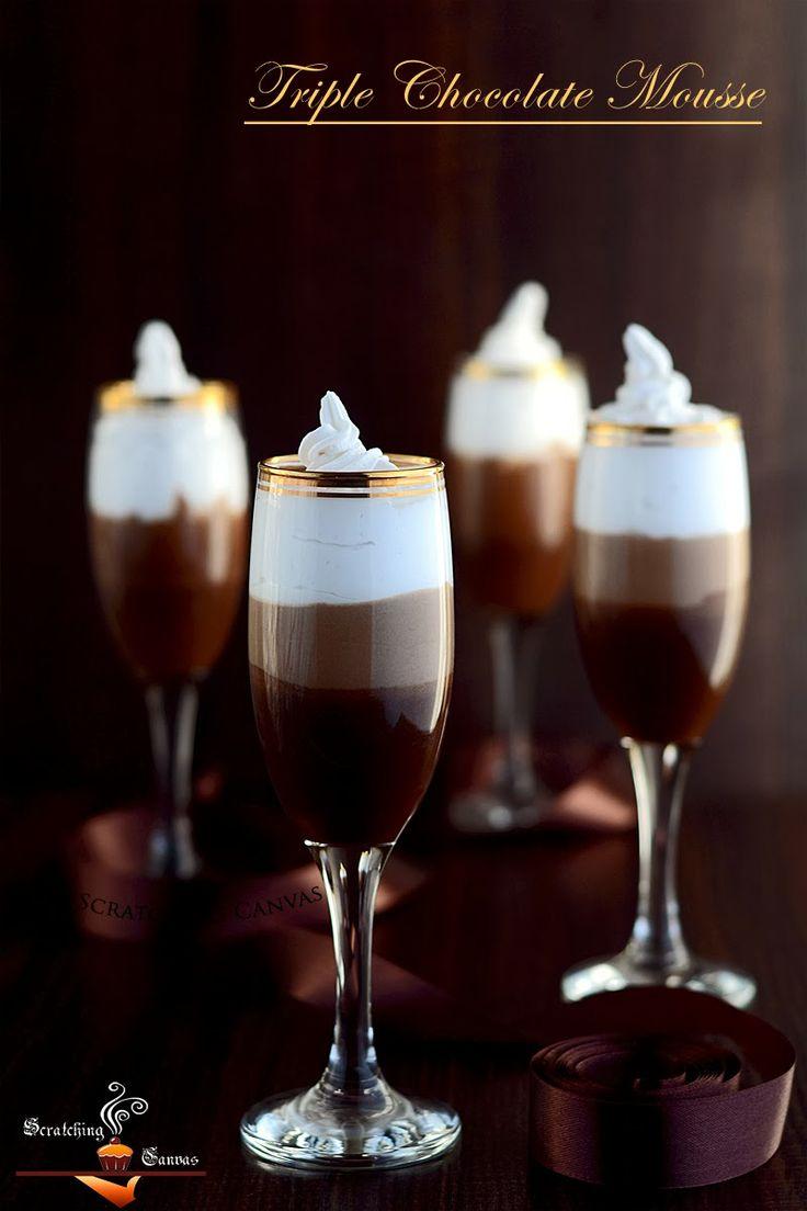 Skinny Triple Chocolate Mousse {vegan}