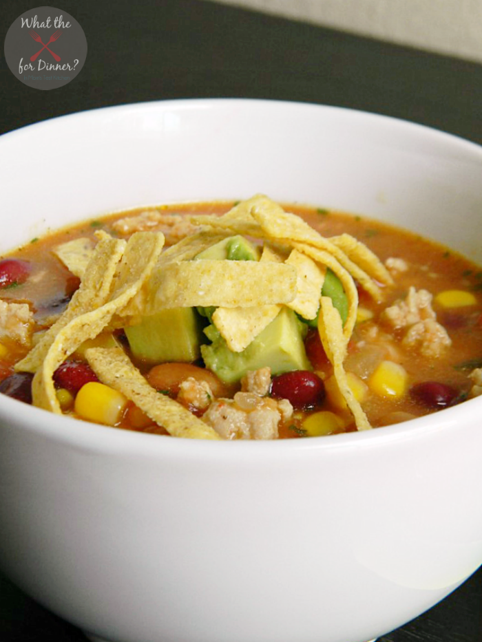 Comforting Chicken Taco Soup