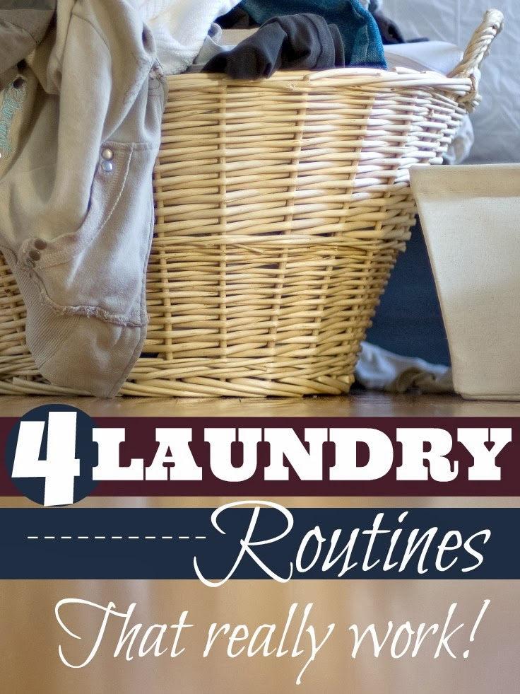 4 Easy Laundry Routines That Really Work | Mums Make Lists