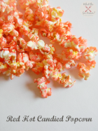 Red Hot Candied Popcorn | www.momstestkitchen.com