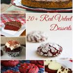 20+ Red Velvet Desserts
